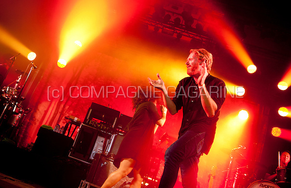 Belgian band Arsenal performing at the Masters At Rock festival, in Torhout (Belgium, 28/08/2015)