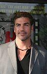 "Eric Etebari (actor in Affirmative Act) attends the Filmmakers' Reception and Opening Night of the Hoboken International Film Festival - World Premiere Screening of ""An Affirmative Act"" - the first-ever courtroom drama about the legalization of Gay marriage on June 3, 2010 at the Cedar Lane Cinemas, Teaneck, New Jersey. (Photo by Sue Coflin/Max Photos)"