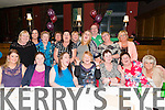 Patricia Mc Carthy from Kenworth Co. Cork celebrated her 60th birthday surrounded by friends in the Scotts Hotel, Killarney last Saturday night.