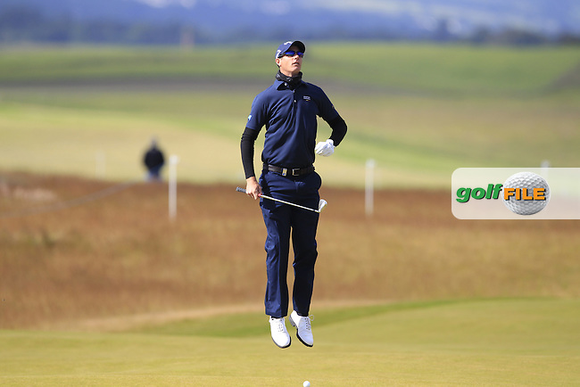 Nicolas Colsaerts (BEL) during the first round of the Aberdeen Asset Management Scottish Open 2016, Castle Stuart  Golf links, Inverness, Scotland. 07/07/2016.<br /> Picture Fran Caffrey / Golffile.ie<br /> <br /> All photo usage must carry mandatory copyright credit (&copy; Golffile | Fran Caffrey)