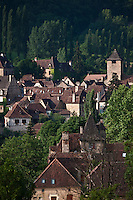Europe/Europe/France/Midi-Pyrénées/46/Lot/Autoire: le village - Plus Beaux Villages de France