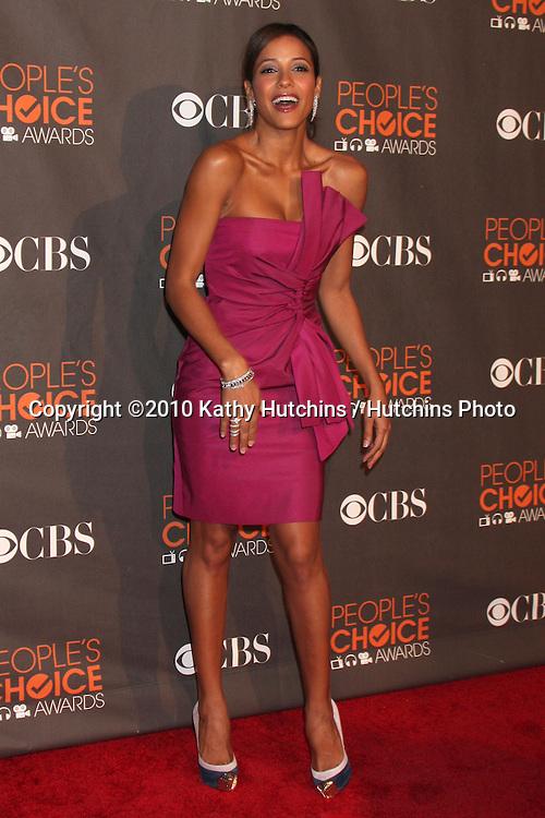 Dania Ramirez .arriving  at the 2010 People's Choice Awards.Nokia Theater.January 6, 2010.©2010 Kathy Hutchins / Hutchins Photo.