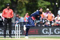 England`s Moeen Ali during the 5th ODI Blackcaps v England. Hagley Oval, Christchurch, New Zealand. Saturday 10 March 2018. ©Copyright Photo: Chris Symes / www.photosport.nz