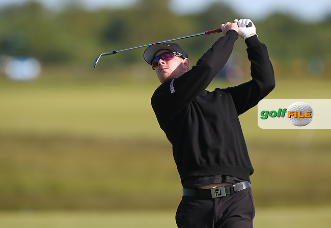 Jens Dantorp (SWE) matches the morning leader's score (68) so it's all square on -9 after Round Two of the 2015 Nordea Masters at the PGA Sweden National, Bara, Malmo, Sweden. 05/06/2015. Picture David Lloyd | www.golffile.ie