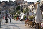 Promenade, Soller Port, Majorca - Mallorca, Spain