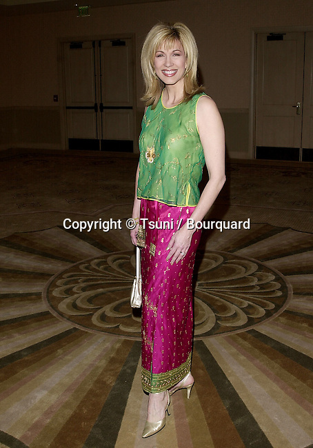 Leeza Gibbons arriving  at the Producer Guild Awards 2001 at the Century Plaza in Los  Angeles. 3/3/2001  GibbonsLeeza02A.JPG