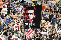 Fans of D.C. United during an MLS match against FC Dallas at RFK Stadium in Washington D.C. on August 14 2010. Dallas won 3-1.