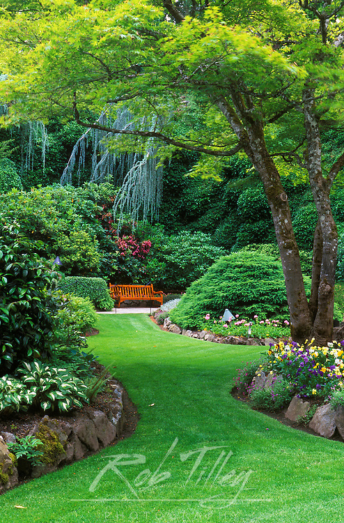N.A., Canada, British Columbia, Vancouver Island, Saanich, Butchart Gardens