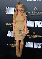 Charlotte Ross at the premiere of &quot;John Wick Chapter Two&quot; at the Arclight Theatre, Hollywood. <br /> Los Angeles, USA 30th January  2017<br /> Picture: Paul Smith/Featureflash/SilverHub 0208 004 5359 sales@silverhubmedia.com