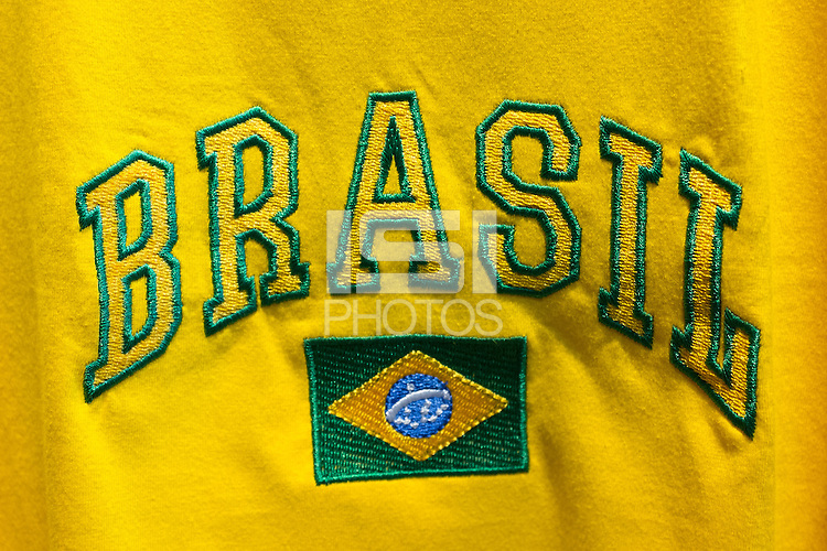 Brasil embroided t-shirt
