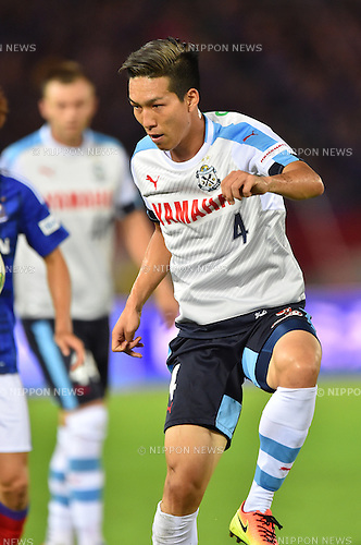 Yuki Kobayashi (Jubilo),<br /> JULY 23, 2016 - Football / Soccer :<br /> 2016 J1 League 2nd stage match between Yokohama F Marinos 1-1 Jubilo Iwata at Nissan Stadium in Kanagawa, Japan. (Photo by AFLO)