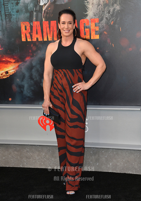 Dany Garcia at the premiere for &quot;Rampage&quot; at the Microsoft Theatre, Los Angeles, USA 04 April 2018<br /> Picture: Paul Smith/Featureflash/SilverHub 0208 004 5359 sales@silverhubmedia.com