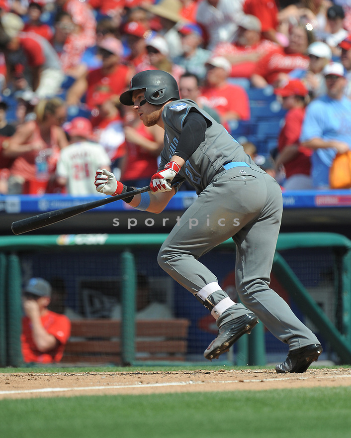 Arizona Diamondbacks Brandon Drury (27) during a game against the Philadelphia Phillies on June 19, 2016 at Citizens Bank Park in Philadelphia, PA. The Diamondbacks beat the Phillies 3-1.