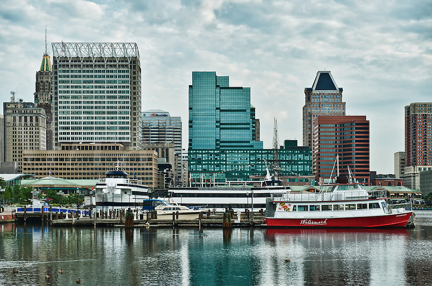 Inner Harbor, Baltimore, Maryland, MD, USA