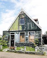 Nederland Zaanstad  2016. Vervallen huis. Foto Berlinda van Dam / Hollandse Hoogte