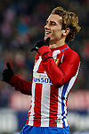 Atletico de Madrid's Antoine Griezmann during the match of Copa del Rey between Atletico de Madrid and Las Palmas, at Vicente Calderon Stadium,  Madrid, Spain. January 10, 2017. (ALTERPHOTOS/Rodrigo Jimenez)