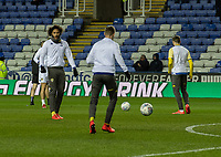 Leeds United during the pre-match warm-up <br /> <br /> Photographer David Horton/CameraSport<br /> <br /> The EFL Sky Bet Championship - Reading v Leeds United - Tuesday 12th March 2019 - Madejski Stadium - Reading<br /> <br /> World Copyright © 2019 CameraSport. All rights reserved. 43 Linden Ave. Countesthorpe. Leicester. England. LE8 5PG - Tel: +44 (0) 116 277 4147 - admin@camerasport.com - www.camerasport.com