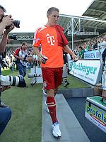 Fussball 1. Bundesliga :  Saison   2012/2013   1. Spieltag  25.08.2012 SpVgg Greuther Fuerth - FC Bayern Muenchen Bastian Schweinsteiger (FC Bayern Muenchen)  auf der Ersatzbank
