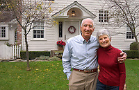 Retired suburban home owners.