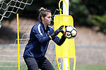 CARY, NC - MAY 10: Katelyn Rowland. The North Carolina Courage held a training session on May 10, 2017, at WakeMed Soccer Park Field 7 in Cary, NC.