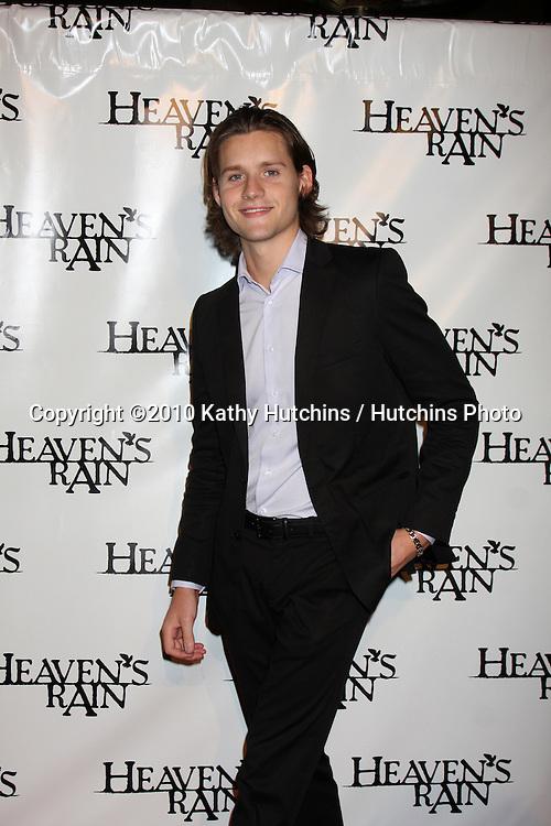 """LOS ANGELES - SEP 9:  Luke Kleintank  arrives at the """"Heaven's Rain """" Premiere at ArcLight Cinemas on September 9, 2010 in Los Angeles, CA"""