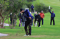 Francesco Laporta (ITA) on the 7th during Round 4 of the Challenge Tour Grand Final 2019 at Club de Golf Alcanada, Port d'Alcúdia, Mallorca, Spain on Sunday 10th November 2019.<br /> Picture:  Thos Caffrey / Golffile<br /> <br /> All photo usage must carry mandatory copyright credit (© Golffile | Thos Caffrey)