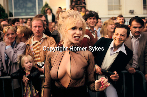 Bobbie Bresee American film actress and starlet at the Cannes Film Festival France 1980