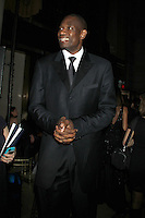 NEW YORK, NY - NOVEMBER 27: Dekimbe Mutombo attends the 2012 Unicef SnowFlake Ball at Cipriani 42nd Street on November 27, 2012 in New York City. Credit: RW/MediaPunch Inc. /NortePhoto