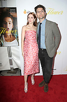 "LOS ANGELES - MAR 13:  Zoey Deutch, Adam Scott at the ""Flower"" Premiere at ArcLight Theater on March 13, 2018 in Los Angeles, CA"