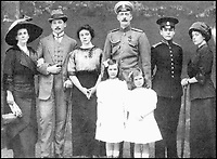 BNPS.co.uk (01202 558833)Pic: Bonhams/BNPS<br /> <br /> Grand Duke Paul Alexandrovich of Russia and his family.<br /> <br /> A Russian Grand Duke branded King George V a 'scoundrel' who 'did not lift a finger' to save the Romanov family in the revolution there of 1917, explosive diaries have revealed.<br /> <br /> The cousin of the overthrown Russian Royal family blamed the British King for their executions because he failed to grant them refuge.<br />  <br /> Dmitri Pavlovich no-holds-barred diary extracts have been published for the first time in a new book by respected historian Coryne Hall, To Free The Romanovs.