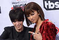 Zendaya Coleman @ the 2016 iHeart Radio Music awards held @ the Forum.<br /> April 3, 2016