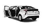 Car images of 2017 Toyota Prius Two 5 Door Hatchback Doors