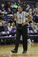 SEATTLE, WA - DECEMBER 18: NCAA official Anita Ortega was on hand for the game between Washington and Savannah State.  Washington won 87-36 over Savannah State at Alaska Airlines Arena in Seattle, WA.