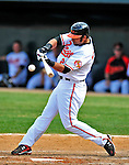 6 March 2009: Baltimore Orioles' outfielder Nick Markakis at bat during a Spring Training game against the Washington Nationals at Fort Lauderdale Stadium in Fort Lauderdale, Florida. The Orioles defeated the Nationals 6-2 in the Grapefruit League matchup. Mandatory Photo Credit: Ed Wolfstein Photo