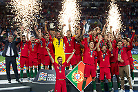 Porto, Portugal - Sunday, June 9, 2019: Portugal beat Netherlands 1-0 in the final of UEFA Nations League 2019 at Estadio do Dragao in Porto.