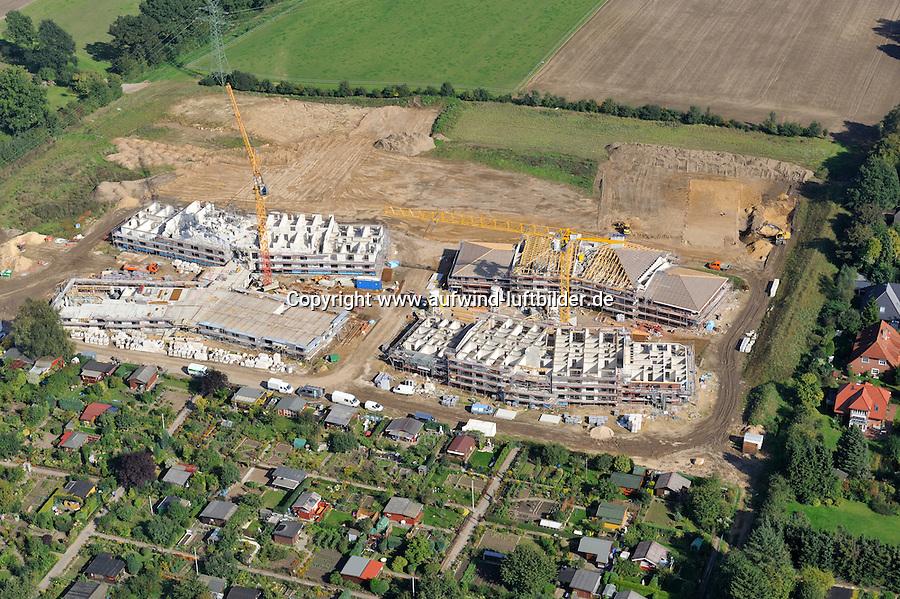 Bismarck Seniorendomizil: EUROPA, DEUTSCHLAND, SCHLESWIG- HOLSTEIN, REINBEK, (GERMANY), 22.09.2010:Bismarck Seniorendomizil, Baugebiet Schoenningstedt, B- Plan, Muehlenweg, Schoenningstedter Strasse, Muehle,  Luftbild, Air, .. c o p y r i g h t : A U F W I N D - L U F T B I L D E R . de.G e r t r u d - B a e u m e r - S t i e g 1 0 2, 2 1 0 3 5 H a m b u r g , G e r m a n y P h o n e + 4 9 (0) 1 7 1 - 6 8 6 6 0 6 9 E m a i l H w e i 1 @ a o l . c o m w w w . a u f w i n d - l u f t b i l d e r . d e.K o n t o : P o s t b a n k H a m b u r g .B l z : 2 0 0 1 0 0 2 0  K o n t o : 5 8 3 6 5 7 2 0 9.V e r o e f f e n t l i c h u n g n u r m i t H o n o r a r n a c h M F M, N a m e n s n e n n u n g u n d B e l e g e x e m p l a r !.