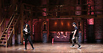 """Roddy Kennedy and Jennie Harney performs at The Rockefeller Foundation and The Gilder Lehrman Institute of American History sponsored High School student #EduHam matinee performance of """"Hamilton"""" at the Richard Rodgers Theatre on June 6, 2018 in New York City."""
