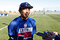 Munenori Kawasaki (Cubs),<br /> FEBRUARY 15, 2017 - MLB : Chicago Cubs spring training baseball workout in Mesa, Arizona. United States.<br /> (Photo by AFLO)