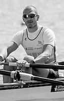 Brandenburg. GERMANY. GBR M4-. Mo SBIHI,   2016 European Rowing Championships at the Regattastrecke Beetzsee<br /> <br /> Friday  06/05/2016<br /> <br /> [Mandatory Credit; Peter SPURRIER/Intersport-images]