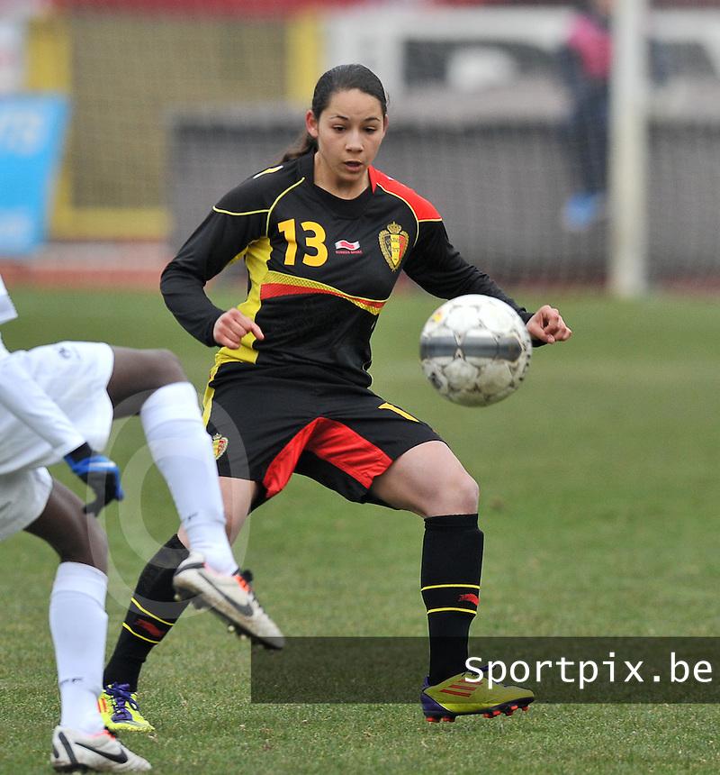 France U19 - Belgium U19 : Lola Wajnblum.foto DAVID CATRY / Nikonpro.be
