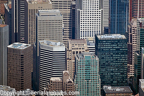Aerial Photograph 55 Second Street 595 Market Chevron Tower 33 New Montgomery