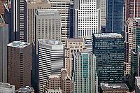 aerial photograph 55 Second Street, 595 Market Street, Chevron Tower, 33 New Montgomery Street skyscrapers San Francisco