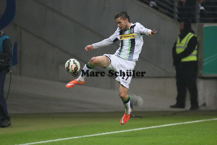 Julian Korb (Gladbach) - Eintracht Frankfurt vs. Borussia Mönchengladbach, DFB-Pokal 2. Runde, Commerzbank Arena