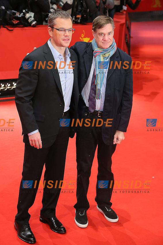 Matt Damon, Gus Van Sant. Berlin 08/02/2013. 63th Berlinale 'Promise Land' photocall. foto Mark Cape/Insidefoto