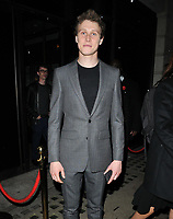 George MacKay at the BAFTA Breakthrough Brits showcase &amp; reception, 194 Piccadilly, St. James's, London, England, UK, on Wednesday 07 November 2018.<br /> CAP/CAN<br /> &copy;CAN/Capital Pictures