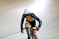 Freddie Dossor of Wellington competes in the U15 Girls 500m Time Trial at the Age Group Track National Championships, Avantidrome, Home of Cycling, Cambridge, New Zealand, Wednesday, March 15, 2017. Mandatory Credit: © Dianne Manson/CyclingNZ  **NO ARCHIVING**