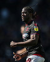 Bolton Wanderers' Clayton Donaldson <br /> <br /> Photographer Andrew Kearns/CameraSport<br /> <br /> The EFL Sky Bet Championship - Derby County v Bolton Wanderers - Saturday 13th April 2019 - Pride Park - Derby<br /> <br /> World Copyright &copy; 2019 CameraSport. All rights reserved. 43 Linden Ave. Countesthorpe. Leicester. England. LE8 5PG - Tel: +44 (0) 116 277 4147 - admin@camerasport.com - www.camerasport.com