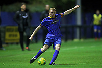 Danny Cossington of Romford during Romford vs Brentwood Town, Velocity Trophy Football at the Brentwood Centre on 8th October 2019