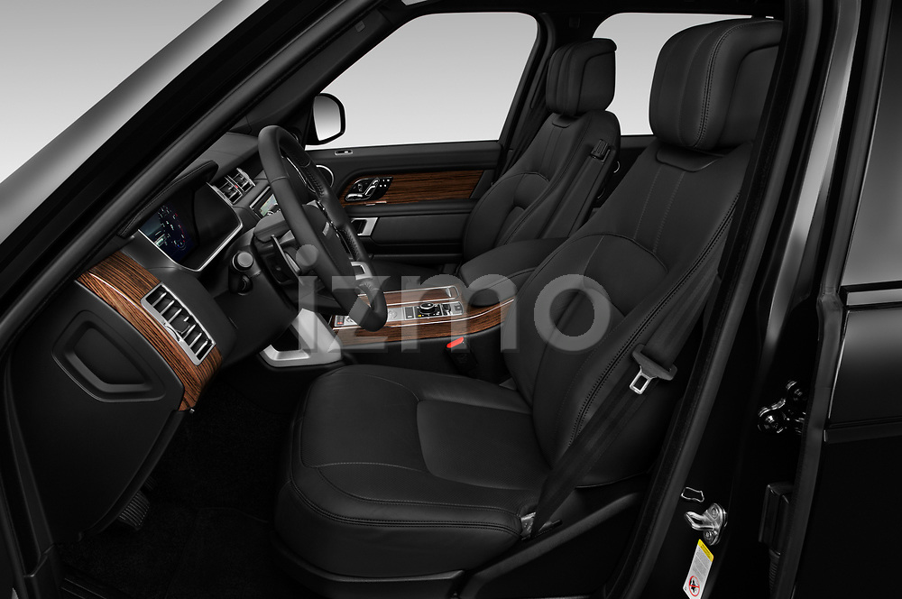 Front seat view of a 2019 Land Rover Range-Rover HSE 5 Door SUV front seat car photos