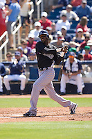 March 13, 2010 - Colorado Rockies' Hector Gomez #50 during a spring training game against the Milwaukee Brewers at Maryvale Baseball Park in Phoenix, Arizona.